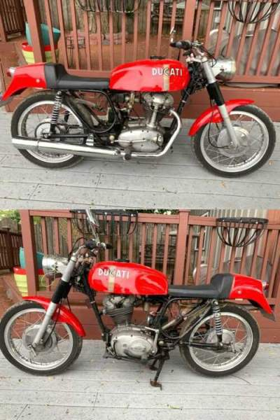 1970 Ducati 350 Mark 3 Desmo red for sale
