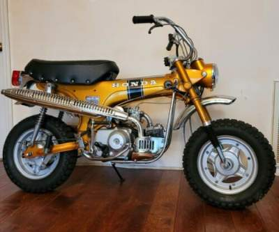 1970 Honda CT Mini Bike Gold for sale craigslist photo