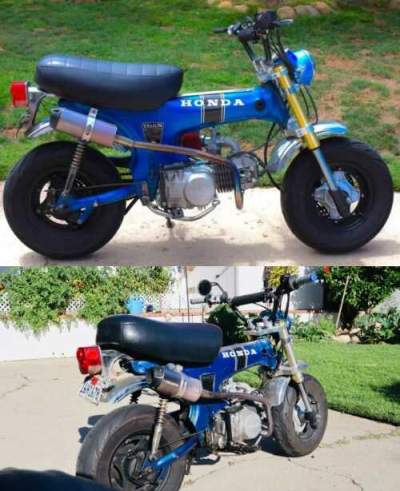 1970 Honda CT Green for sale