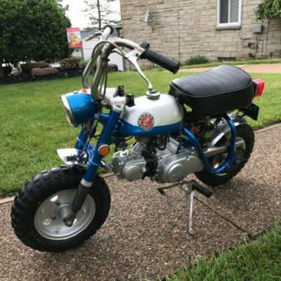 1970 Honda Z50 A Z50A Mini Trail Blue for sale craigslist photo