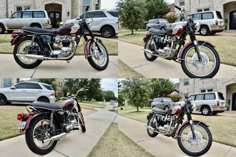 1970 Triumph Bonneville  for sale craigslist photo