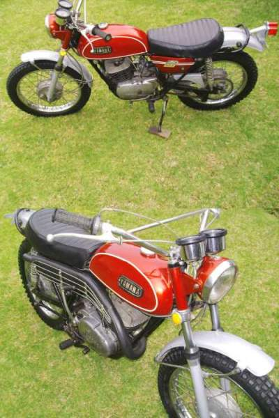 1970 Yamaha ENDURO DT1 Red for sale