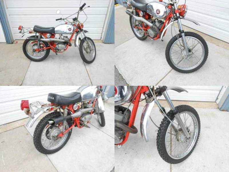 1971 Hodaka Ace 100B Orange for sale craigslist photo