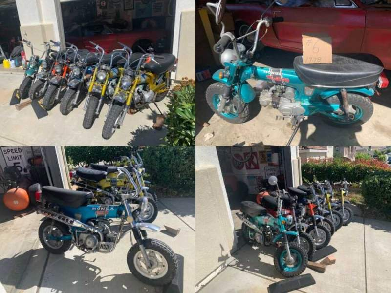 1971 Honda CT Gold blue red orange teal for sale craigslist