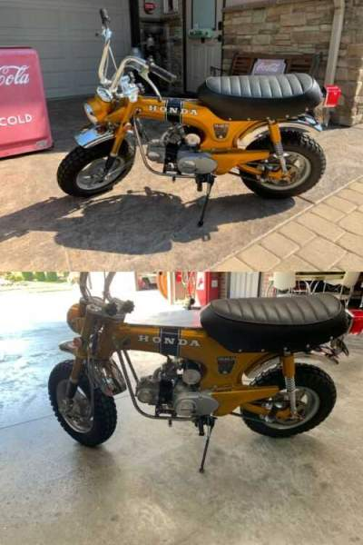 1971 Honda CT70 Trail CT Vintage Motorcycle for sale craigslist