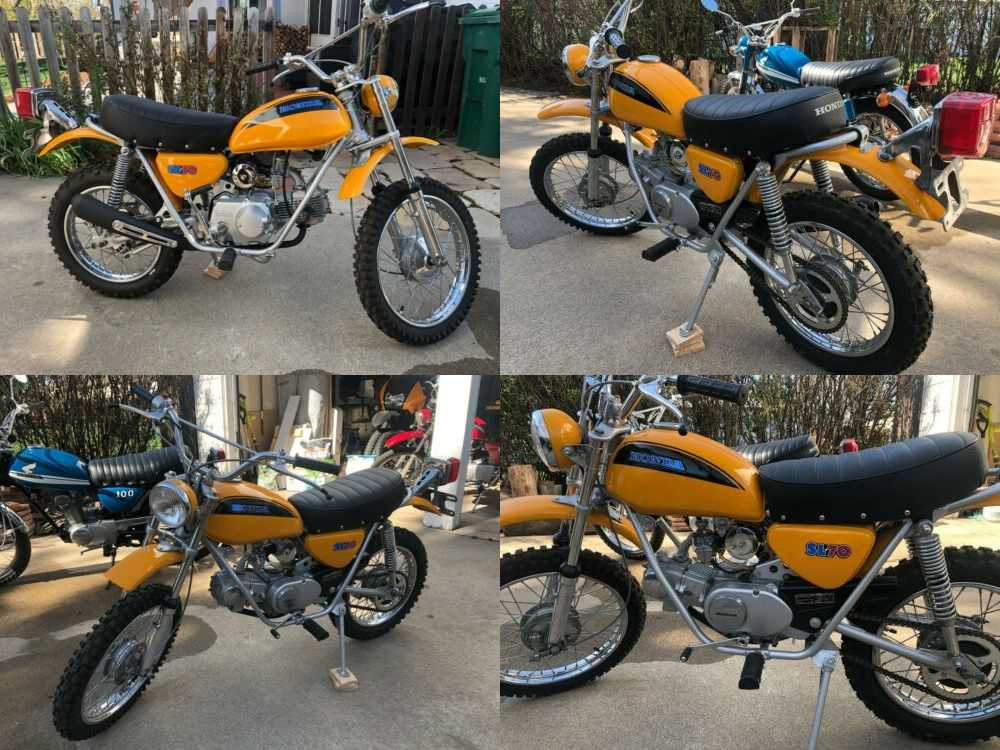 1971 Honda Other Yellow for sale craigslist
