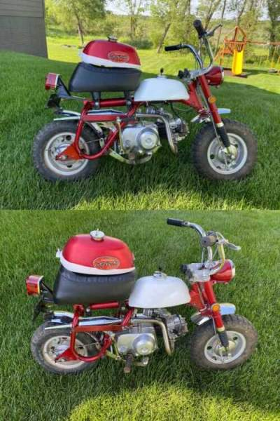 1971 Honda z50a k2 mini trail Red for sale craigslist
