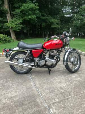 1971 Norton Commando Red for sale craigslist photo