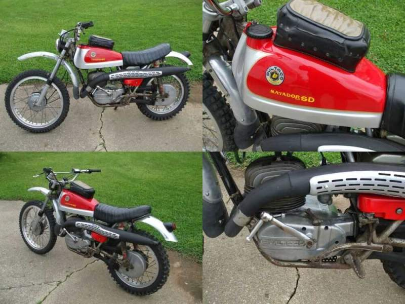 1972 Bultaco Matador Red for sale craigslist photo