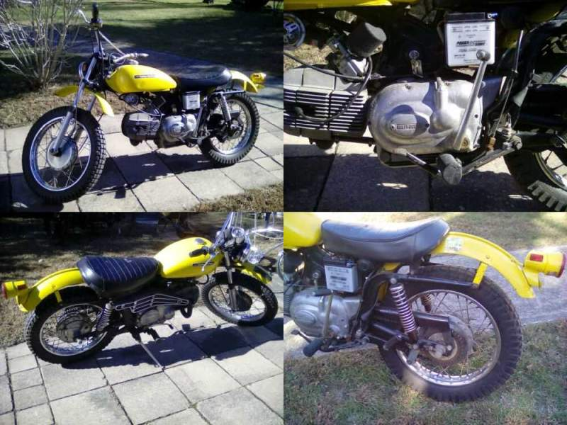 1972 Harley-Davidson Street  for sale craigslist photo