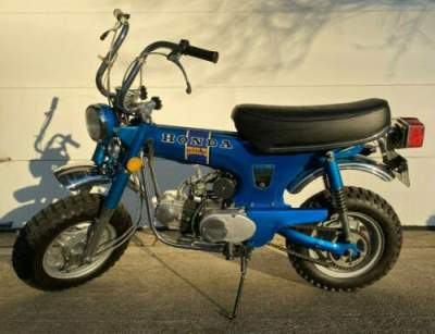1972 Honda CT Blue for sale craigslist photo