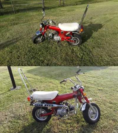 1972 Honda CT Red for sale craigslist photo