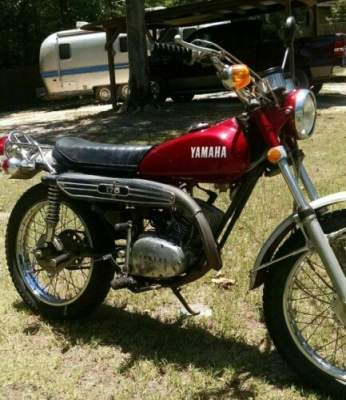 1972 Yamaha MC 175 Red for sale