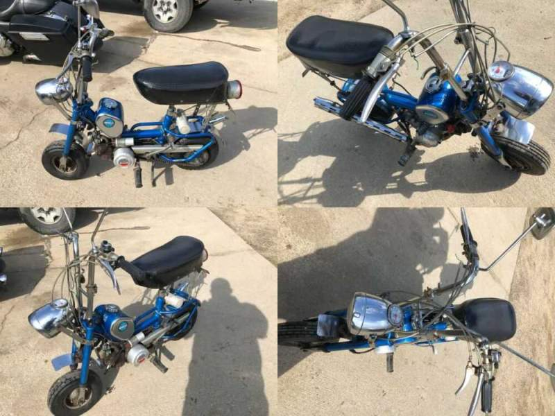 1973 Benelli Buzzer Blue and silver for sale craigslist photo