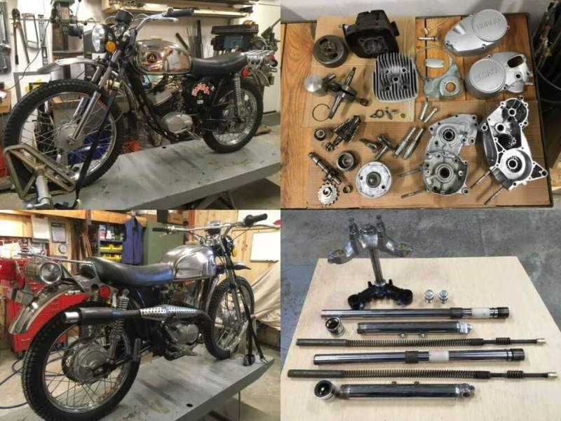 1973 Hodaka 125 Wombat Chrome for sale