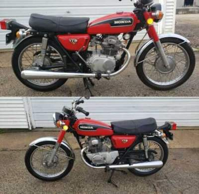 1973 Honda CB Red for sale craigslist photo