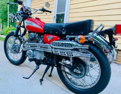1973 Honda CL Red for sale craigslist photo