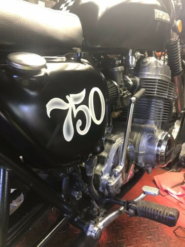 1973 Honda Cb750 cafe Black for sale