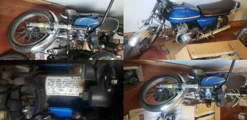 1973 Kawasaki Other Blue for sale craigslist photo