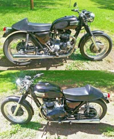 1973 Triumph Tiger Metallic Root Beer for sale