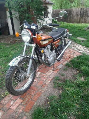 1973 Yamaha TX500 Bronze for sale