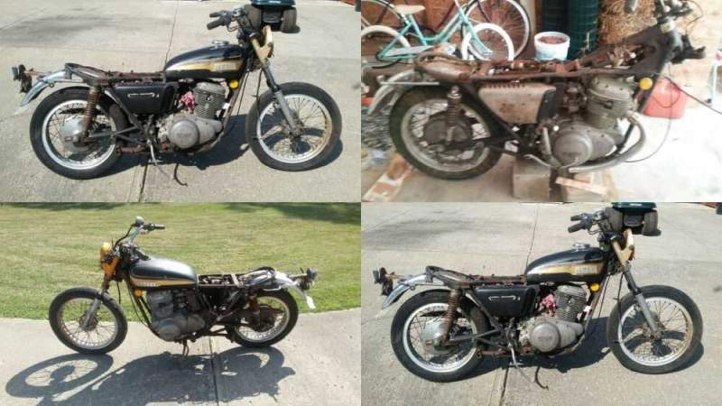 1973 Yamaha Tx 750 Black for sale craigslist