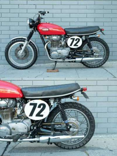 1973 Yamaha XS650 Red for sale craigslist