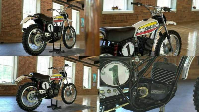 1974 Can-Am MX-1 White for sale craigslist photo