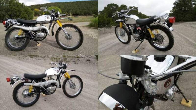 1974 Hodaka Wombat 125  for sale craigslist photo
