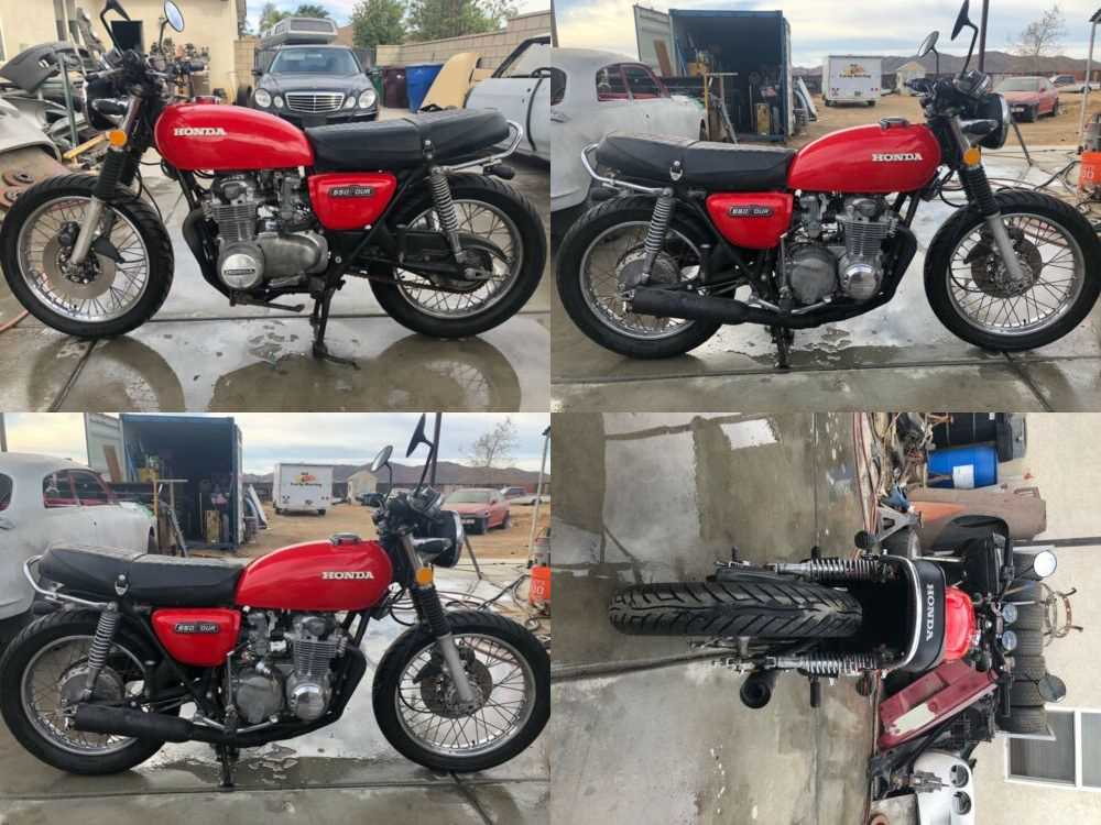 1974 Honda CB Red for sale craigslist photo