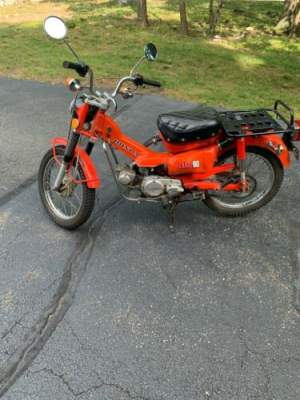 1974 Honda CT Red for sale craigslist photo
