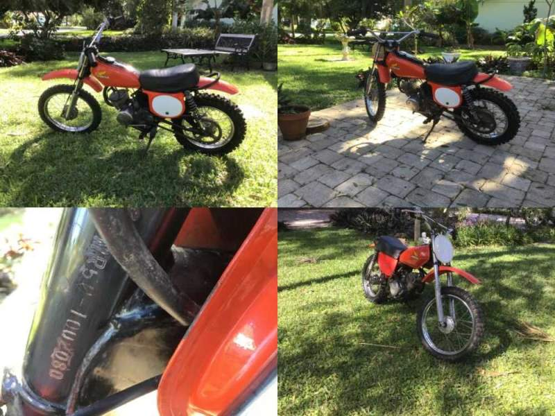 1974 Honda MR50 Orange for sale craigslist photo