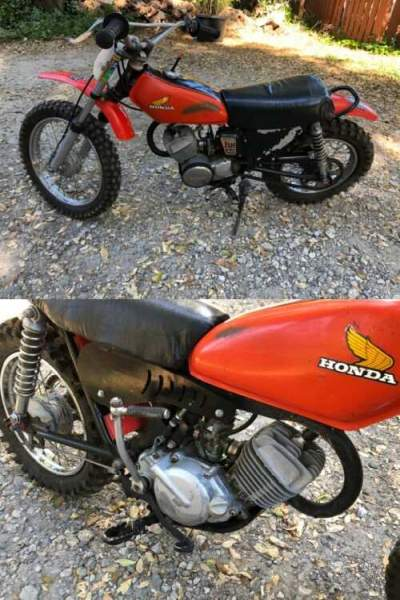 1974 Honda MR50 Orange for sale
