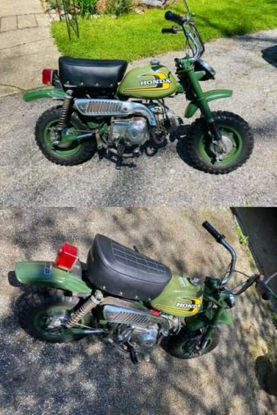 1974 Honda Z50A Green for sale