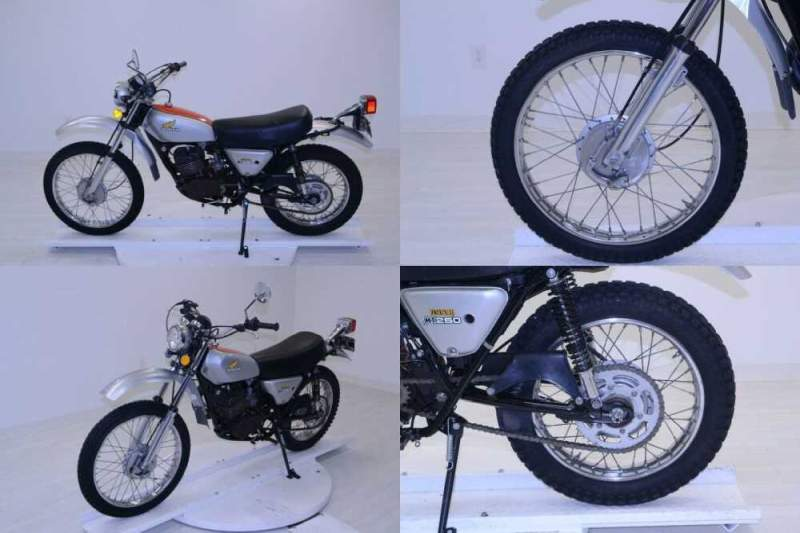 1974 Honda mt250 Silver for sale