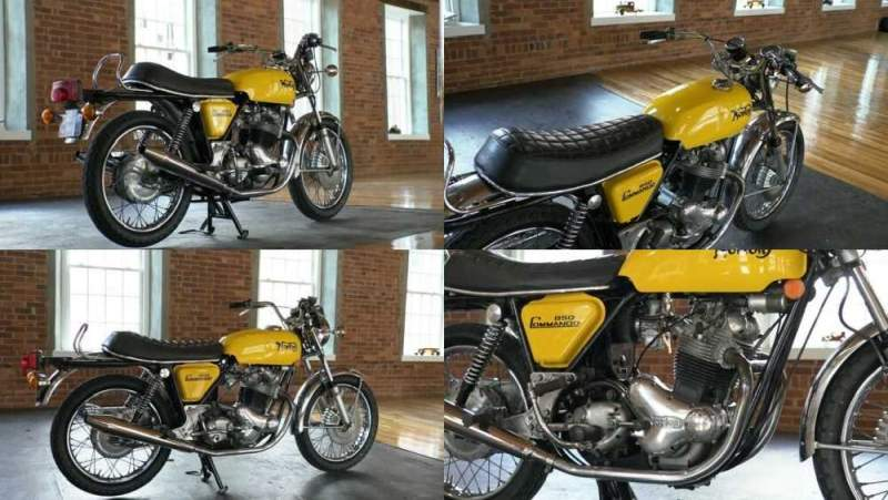 1974 Norton Commando 850 Yellow for sale