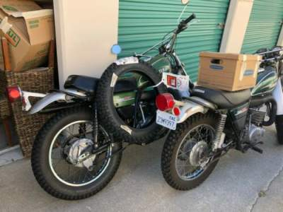 1974 Yamaha DT 360 Green for sale