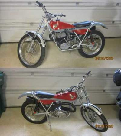 1975 Bultaco Sherpa T  for sale craigslist photo