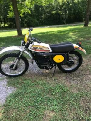 1975 Can-Am TNT 125 cc White for sale craigslist photo