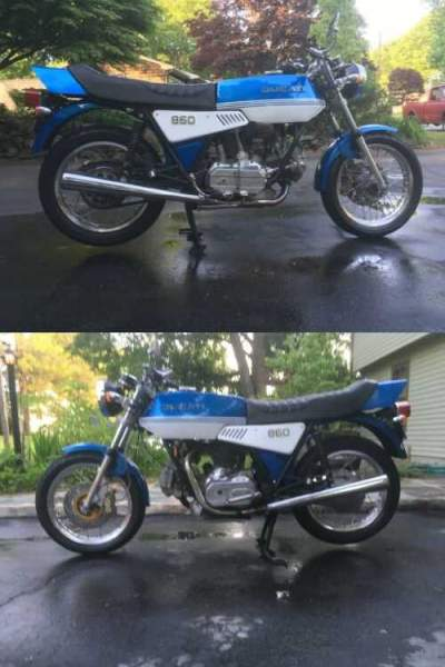 1975 Ducati Sport Touring Blue for sale craigslist photo