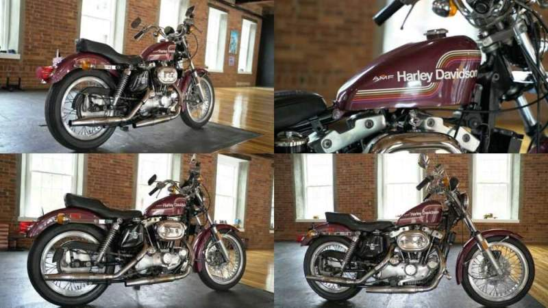 1975 Harley-Davidson Sportster  for sale craigslist photo