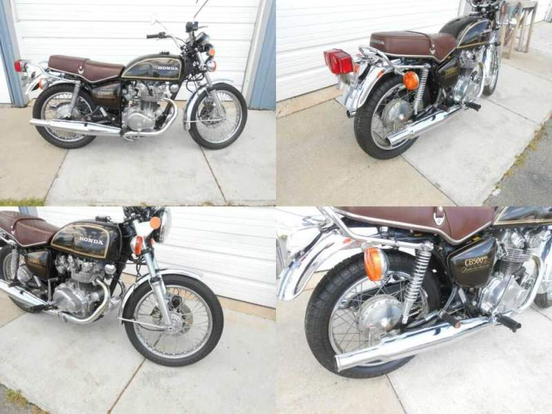 1975 Honda CB Glory Brown Metallic for sale craigslist photo
