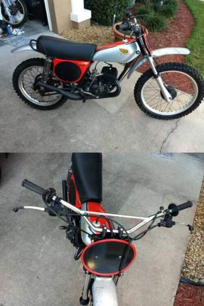 1975 Honda CR  for sale craigslist photo