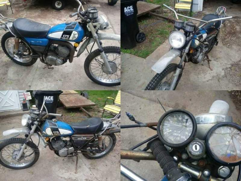 1975 Yamaha DT175 Blue for sale