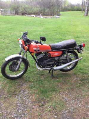 1975 Yamaha RD350 Orange for sale