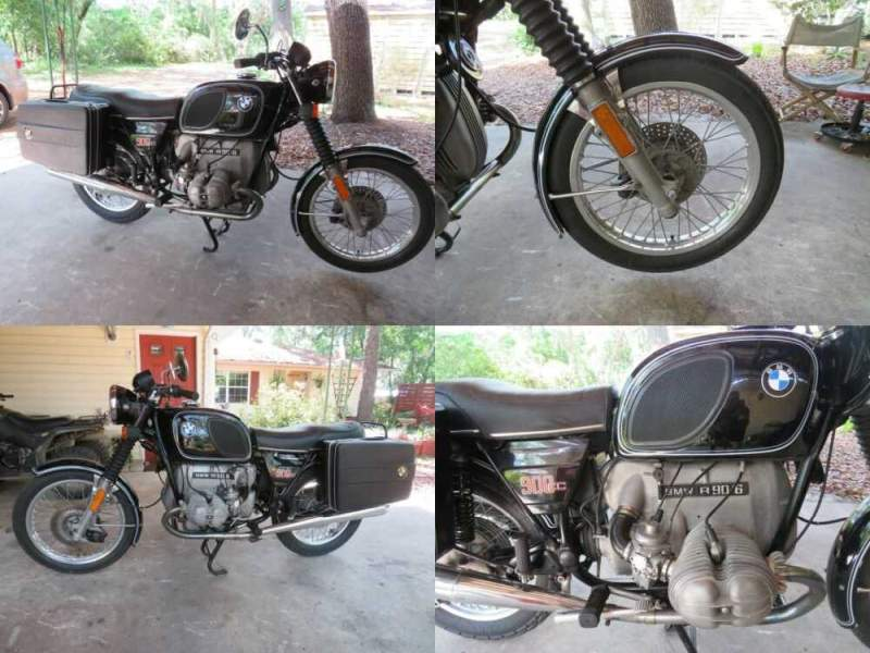 1976 BMW R-Series Black for sale