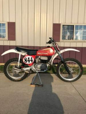 1977 Bultaco Pursang Red for sale craigslist photo