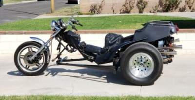 1977 Custom Built Motorcycles AZ Trike Company Black for sale craigslist
