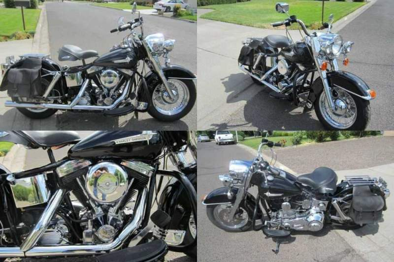 1977 Custom Built Motorcycles Bobber Black for sale craigslist photo