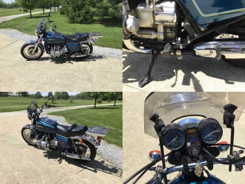 1977 Honda Gold Wing Blue for sale craigslist photo